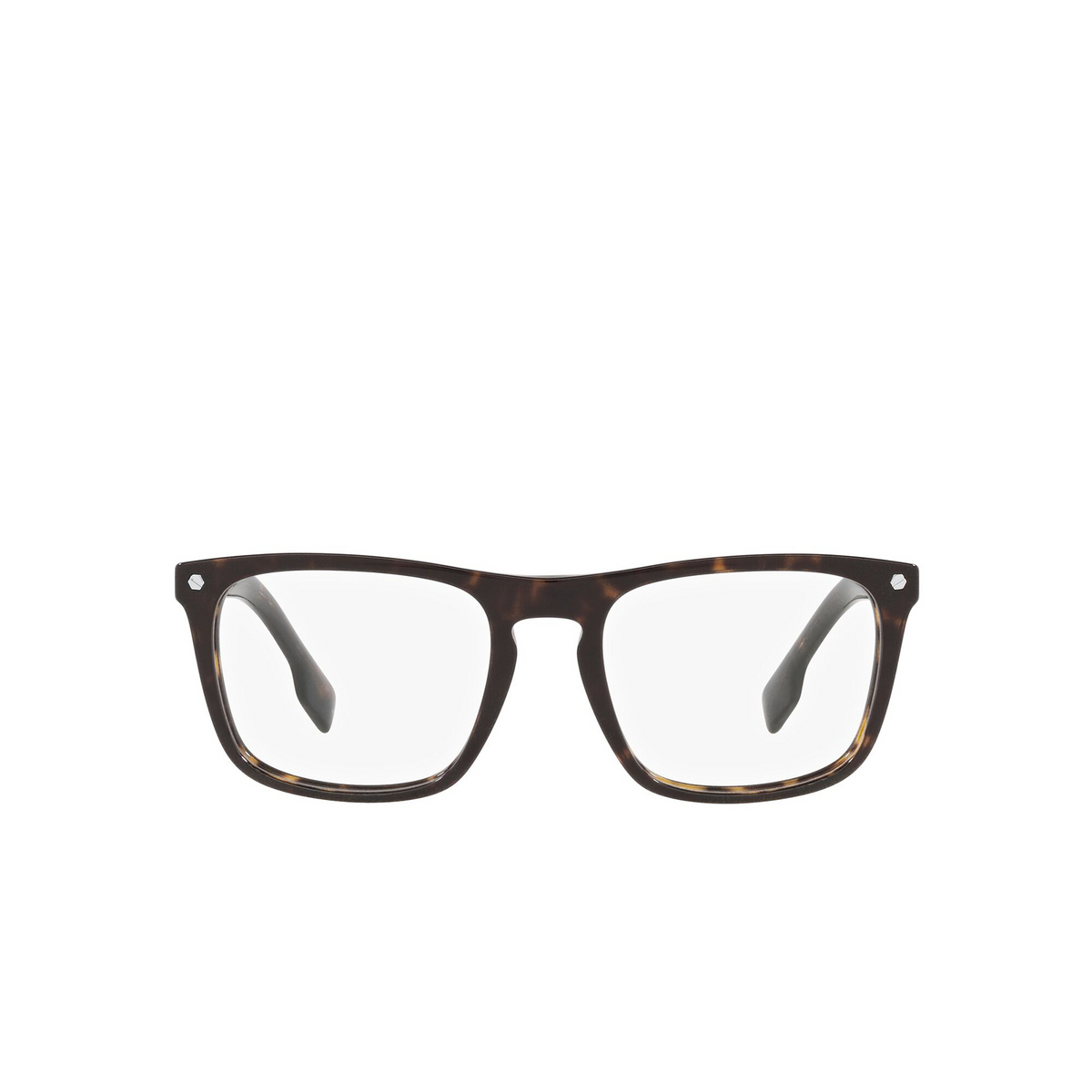 Burberry® Square Eyeglasses: Bolton BE2340 color Havana 3002 - front view.