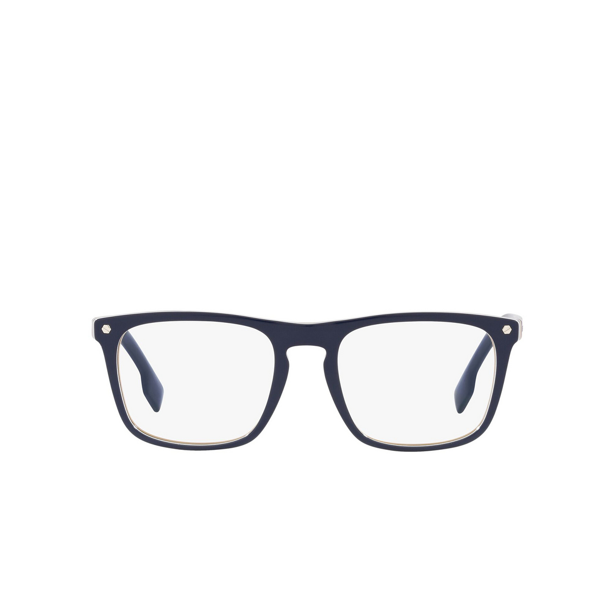 Burberry® Square Eyeglasses: Bolton BE2340 color Blue 3799 - front view.