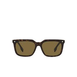 Burberry® Square Sunglasses: Carnaby BE4337 color Dark Havana 300273.
