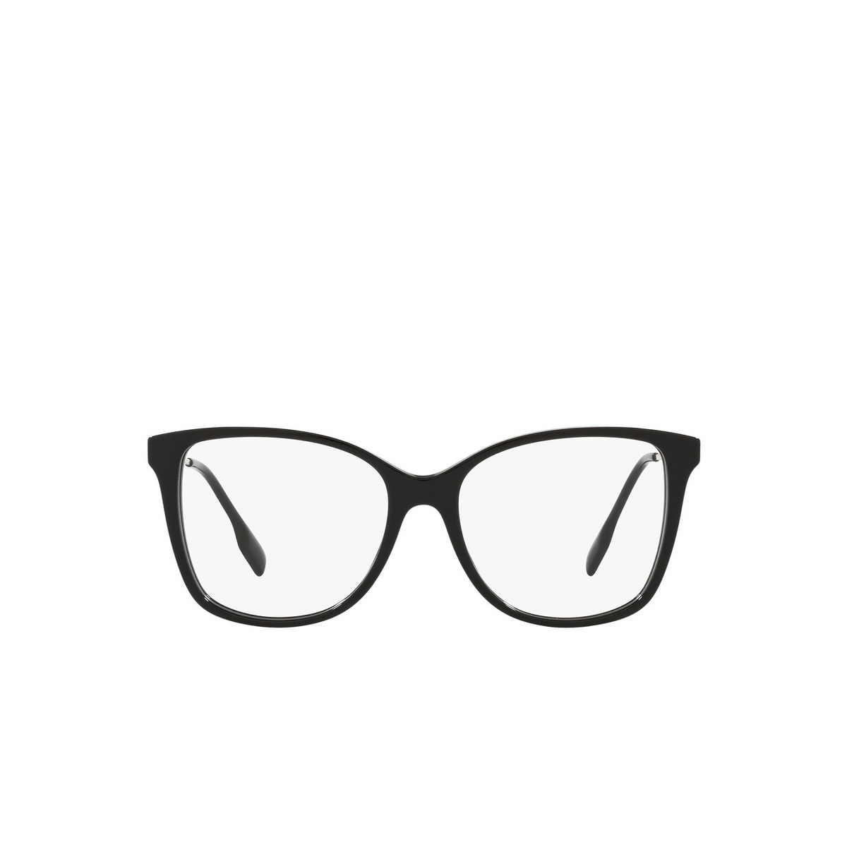 Burberry® Square Eyeglasses: Carol BE2336 color Black 3001 - front view.