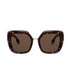 Burberry® Square Sunglasses: Charlotte BE4315 color Dark Havana 300273 - product thumbnail 1/3.