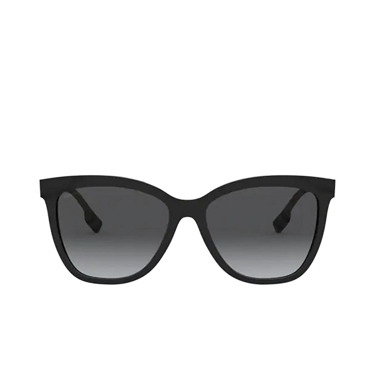 Burberry® Square Sunglasses: Clare BE4308 color Black 3853T3.
