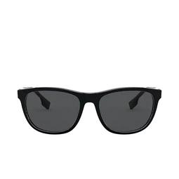 Burberry® Rectangle Sunglasses: Ellis BE4319 color Black 300187.
