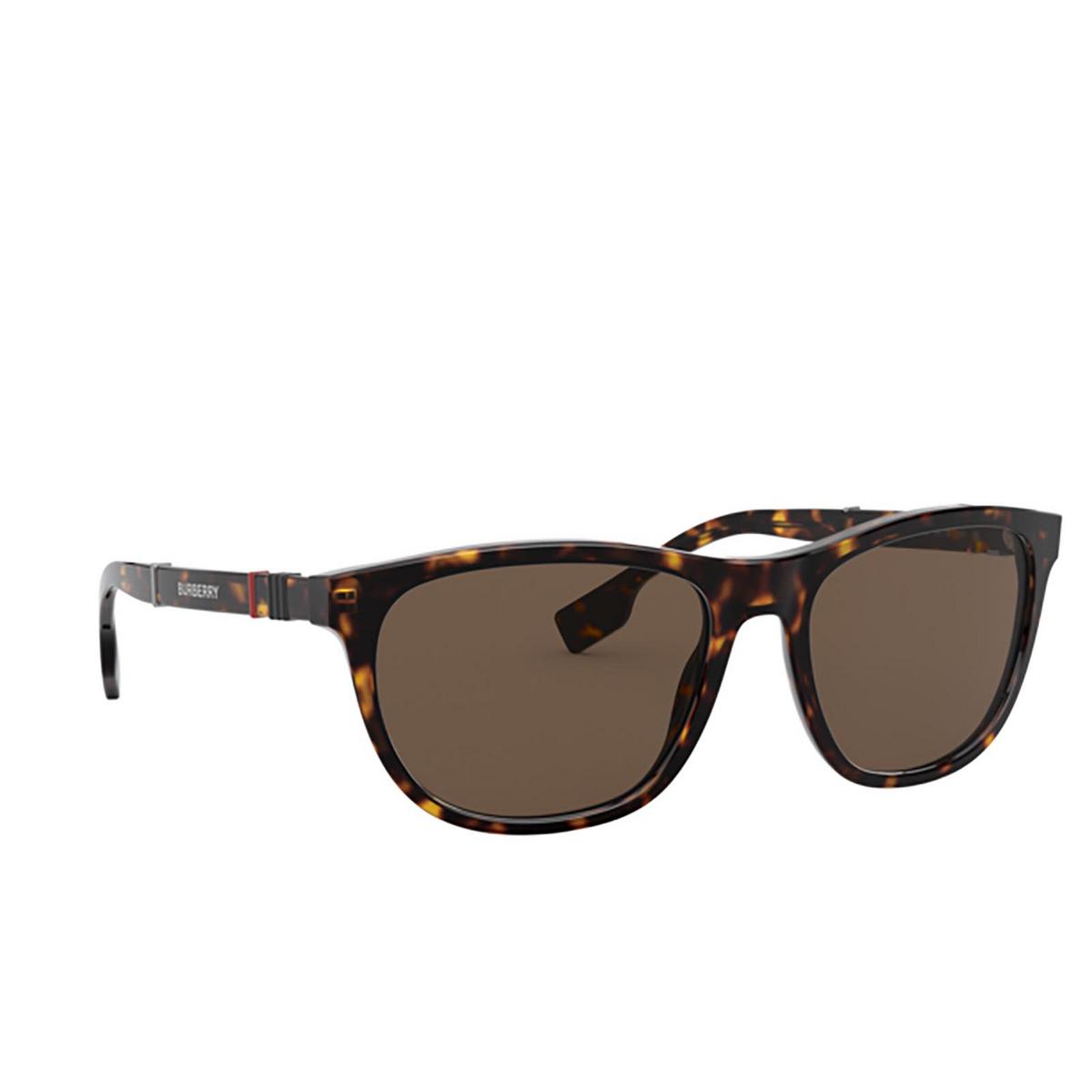 Burberry® Rectangle Sunglasses: Ellis BE4319 color Dark Havana 300273 - 2/3.