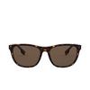 Burberry® Rectangle Sunglasses: Ellis BE4319 color Dark Havana 300273 - product thumbnail 1/3.