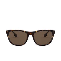 Burberry® Rectangle Sunglasses: Ellis BE4319 color Dark Havana 300273.