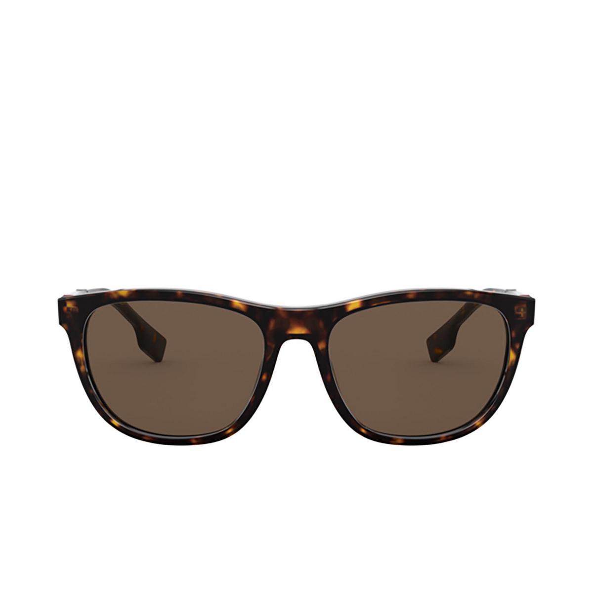 Burberry® Rectangle Sunglasses: Ellis BE4319 color Dark Havana 300273 - 1/3.