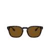 Burberry® Square Sunglasses: Ellis BE4329 color Dark Havana 300283 - product thumbnail 1/3.