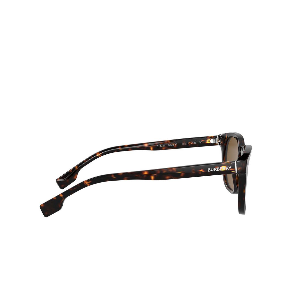 Burberry® Square Sunglasses: Ellis BE4329 color Dark Havana 300283 - 3/3.