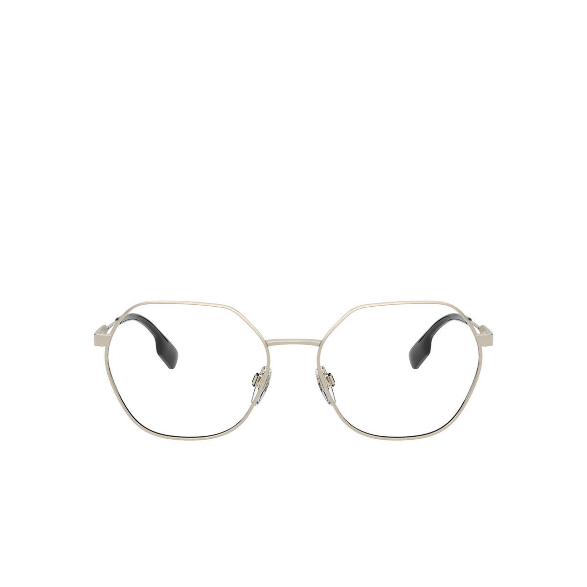 Burberry® Irregular Eyeglasses: Erin BE1350 color Light Gold 1109 - front view.