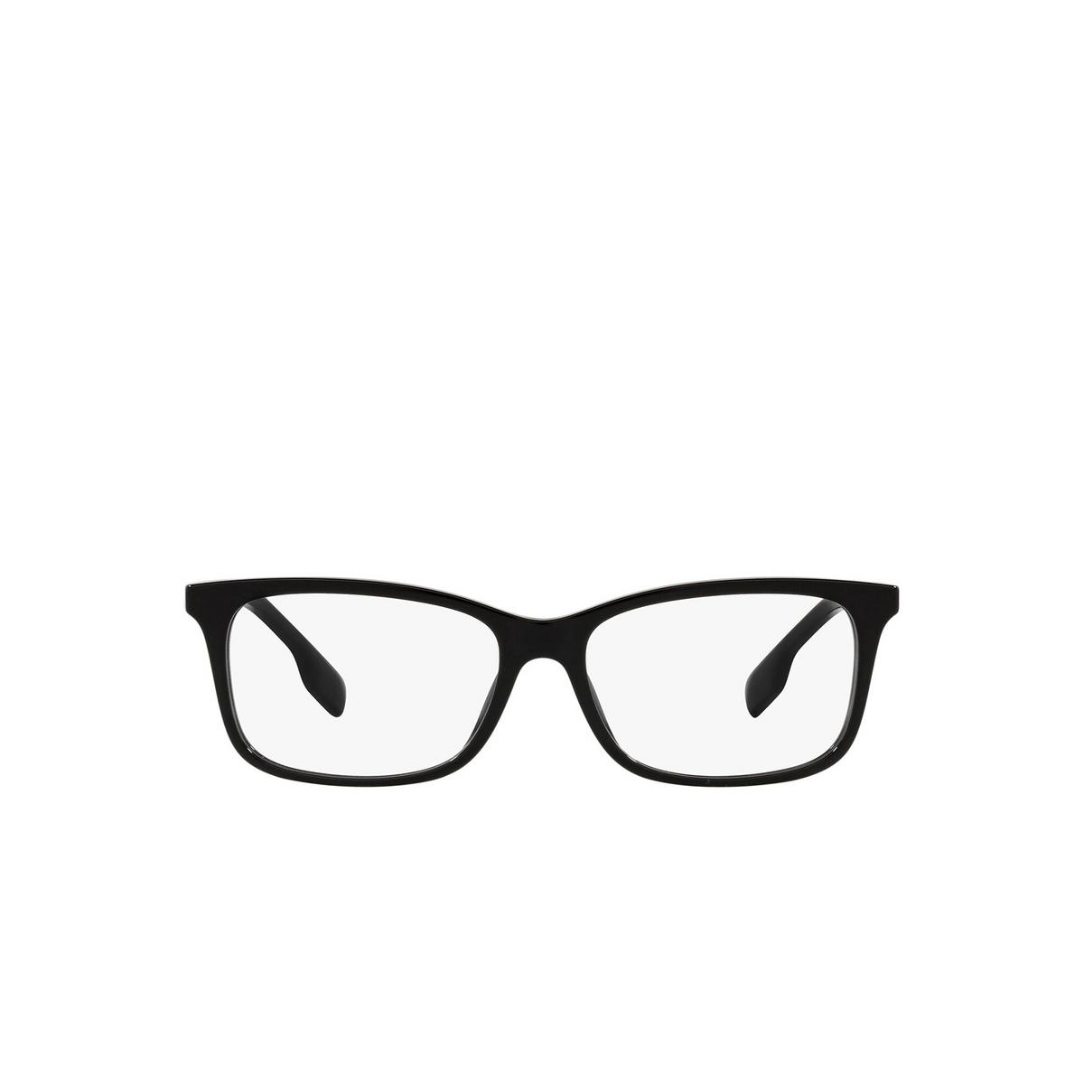 Burberry® Rectangle Eyeglasses: Fleet BE2337 color Black 3001 - front view.