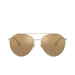 Burberry® Aviator Sunglasses: Gloucester BE3115 color Pale Gold 11092T.