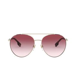 Burberry® Aviator Sunglasses: Gloucester BE3115 color Pale Gold 11098D.