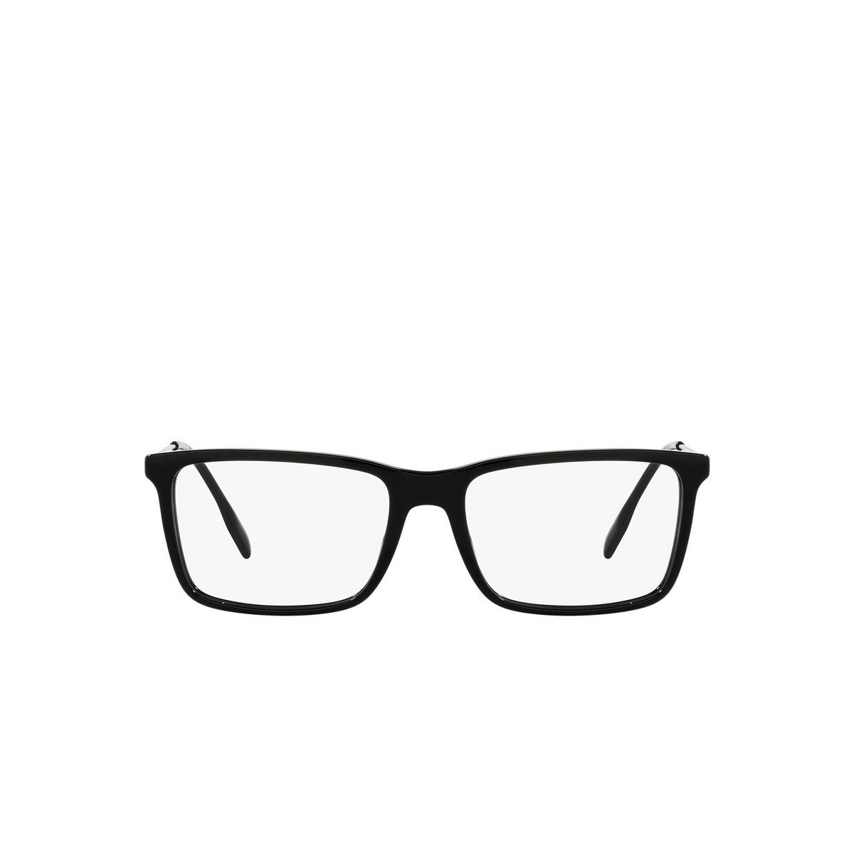 Burberry® Rectangle Eyeglasses: Harrington BE2339 color Black 3001 - front view.