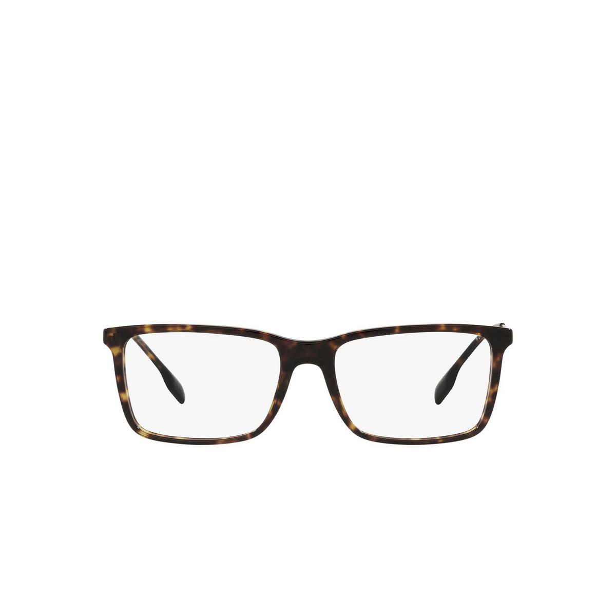 Burberry® Rectangle Eyeglasses: Harrington BE2339 color Dark Havana 3002 - front view.