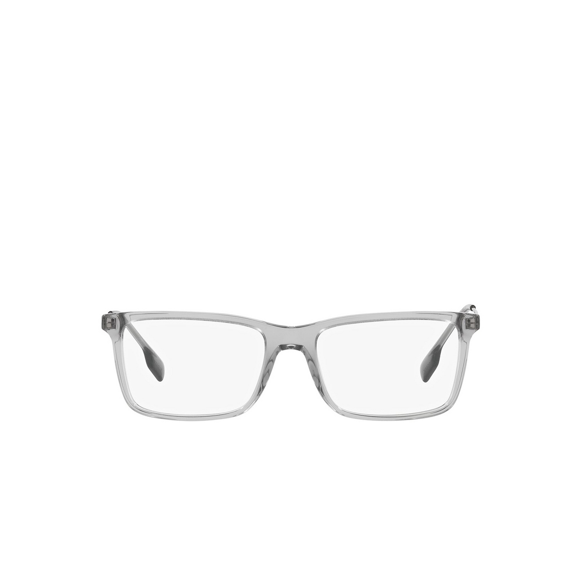 Burberry® Rectangle Eyeglasses: Harrington BE2339 color Grey 3028 - front view.