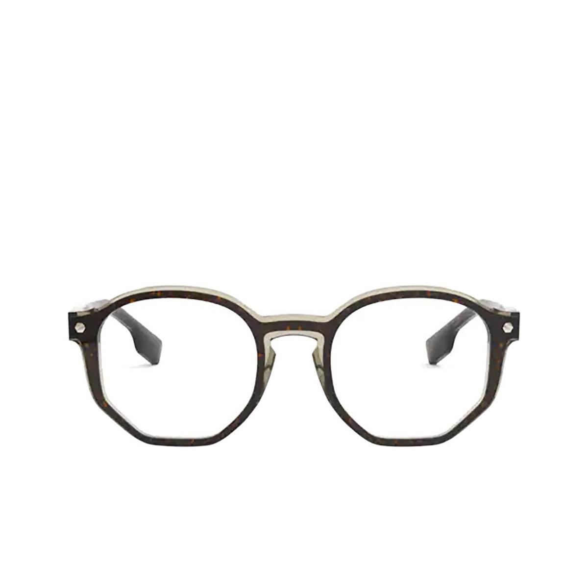 Burberry® Irregular Eyeglasses: Hogarth BE2317 color Top Havana On Grey Transparent 3660 - front view.