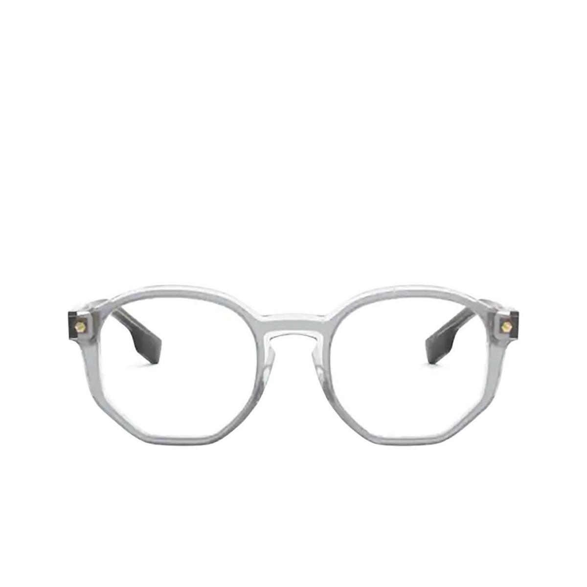 Burberry® Irregular Eyeglasses: Hogarth BE2317 color Top Grey On Transparent 3831 - front view.