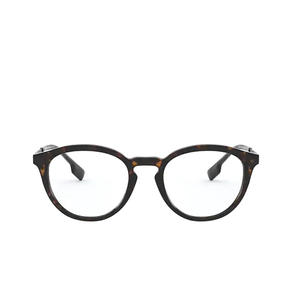 Burberry® Round Eyeglasses: Keats BE2321 color Dark Havana 3002 - front view.