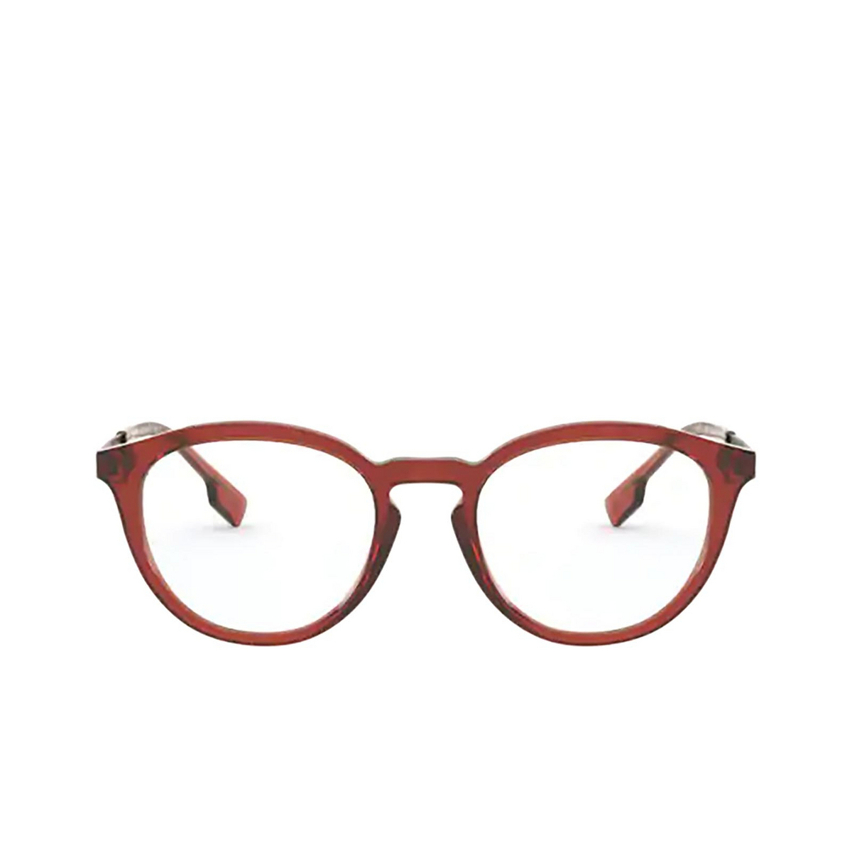 Burberry® Round Eyeglasses: Keats BE2321 color Brown 3846 - front view.