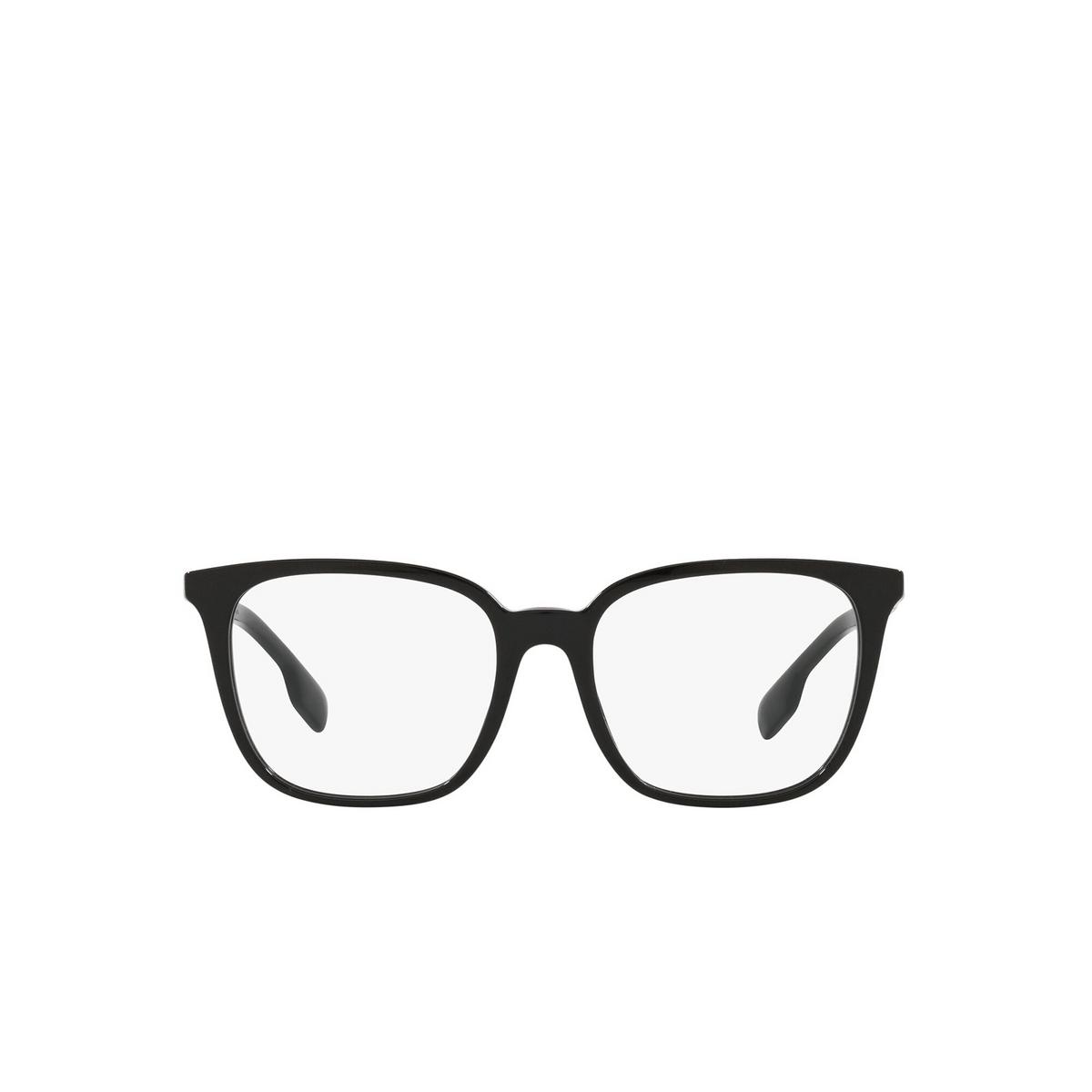 Burberry® Square Eyeglasses: Leah BE2338 color Black 3001 - front view.
