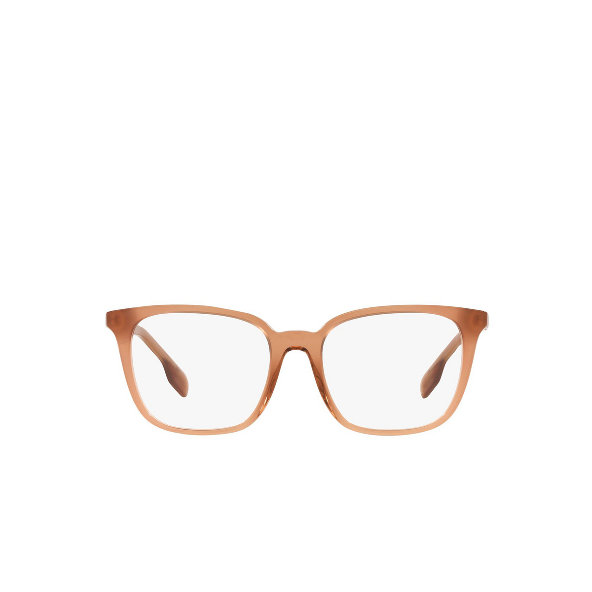 Burberry® Square Eyeglasses: Leah BE2338 color Brown 3173 - front view.