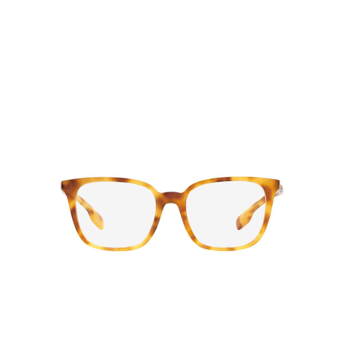 Burberry® Square Eyeglasses: Leah BE2338 color Light Havana 3908 - front view.