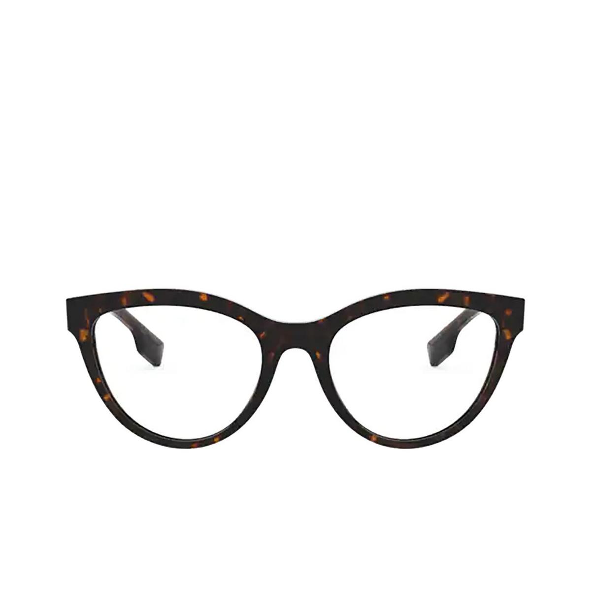 Burberry® Cat-eye Eyeglasses: Lillie BE2311 color Dark Havana 3002 - front view.