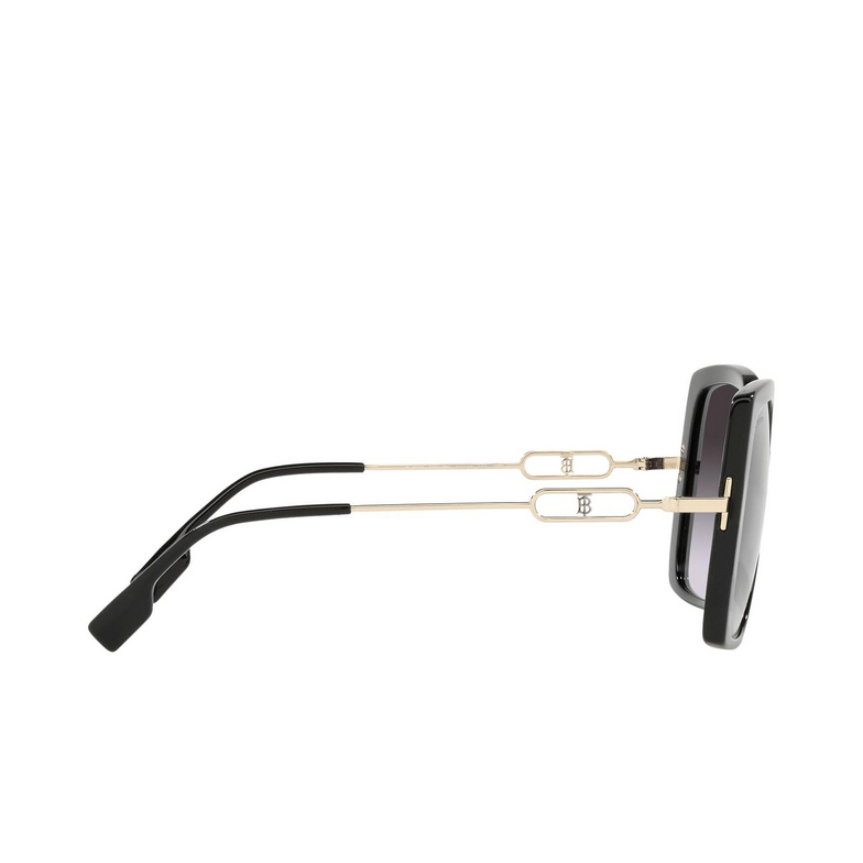 Burberry® Square Sunglasses: Luna BE4332 color Black 30018G.