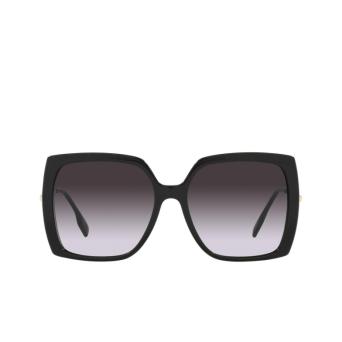 Burberry® Square Sunglasses: Luna BE4332 color Black 30018G.