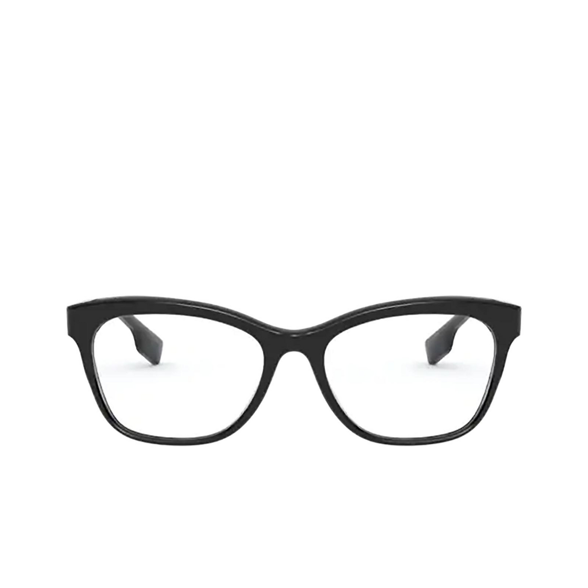Burberry® Square Eyeglasses: Mildred BE2323 color Black 3001 - front view.