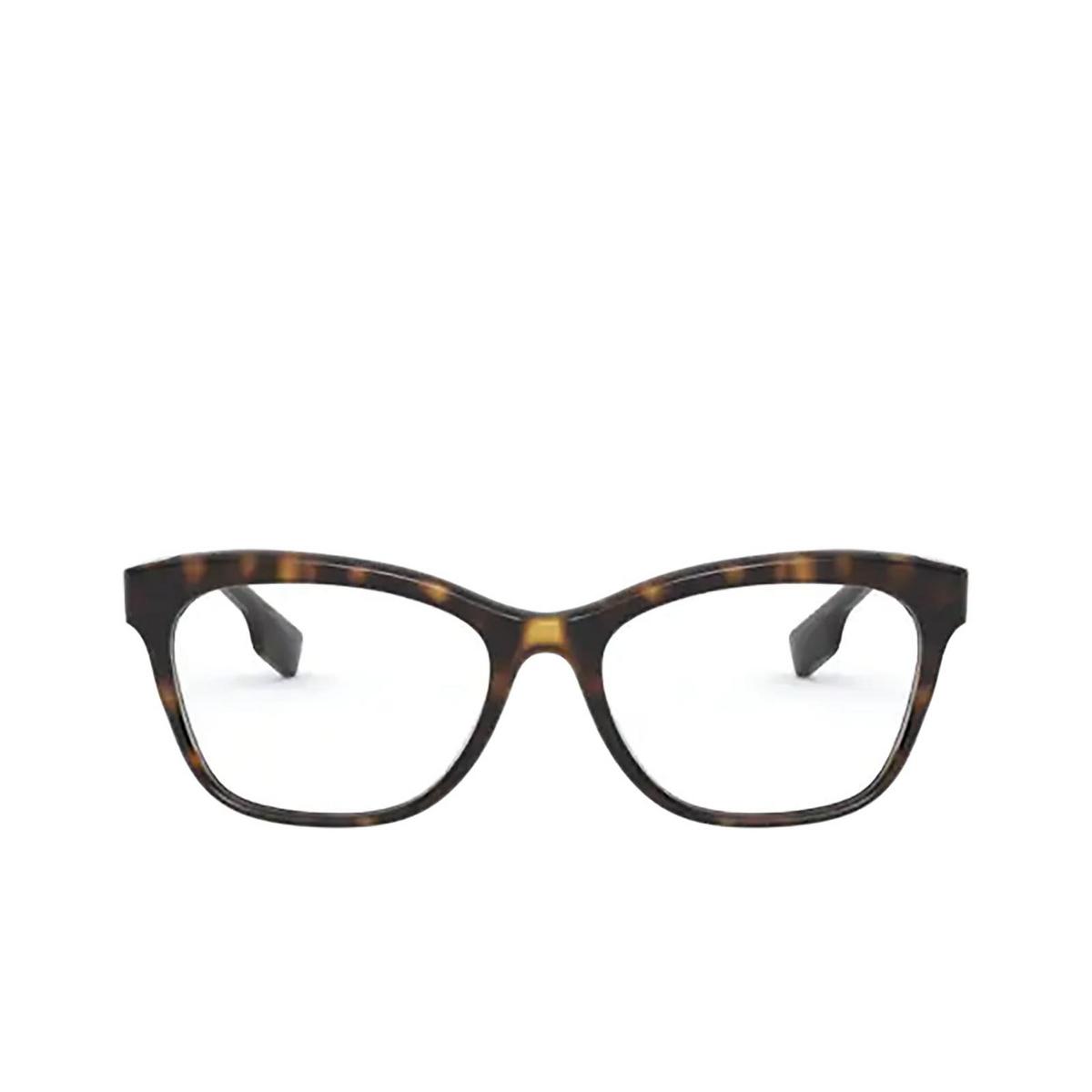 Burberry® Square Eyeglasses: Mildred BE2323 color Dark Havana 3002 - front view.