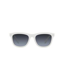 Burberry® Square Sunglasses: Miller BE4341 color White 3007K4.