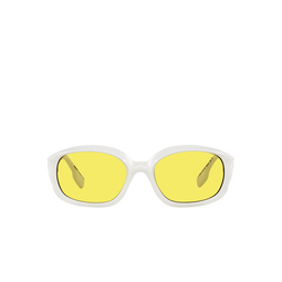 Burberry® Oval Sunglasses: Milton BE4338 color White 300785.