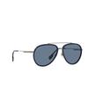 Burberry® Aviator Sunglasses: Oliver BE3125 color Gunmetal 100380 - product thumbnail 2/3.