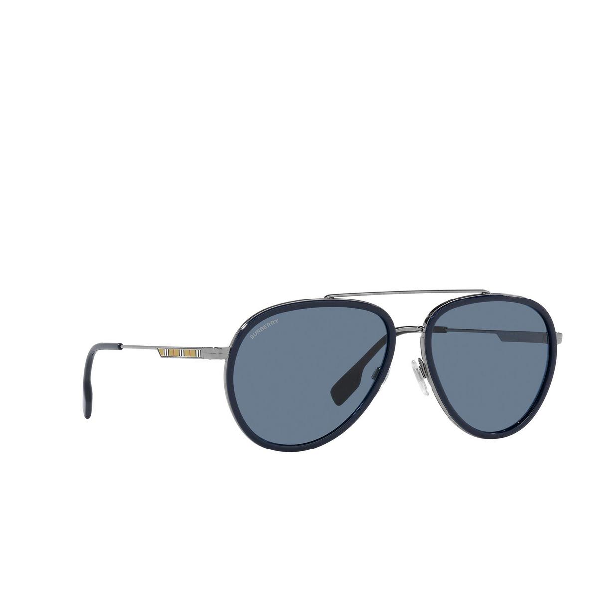 Burberry® Aviator Sunglasses: Oliver BE3125 color Gunmetal 100380 - 2/3.
