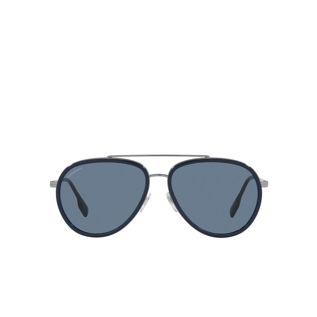 Burberry® Aviator Sunglasses: Oliver BE3125 color Gunmetal 100380 - 1/3.