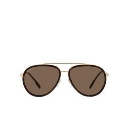 Burberry® Aviator Sunglasses: Oliver BE3125 color Gold 101773.