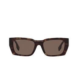 Burberry® Sunglasses: Poppy BE4336 color Dark Havana 392073.