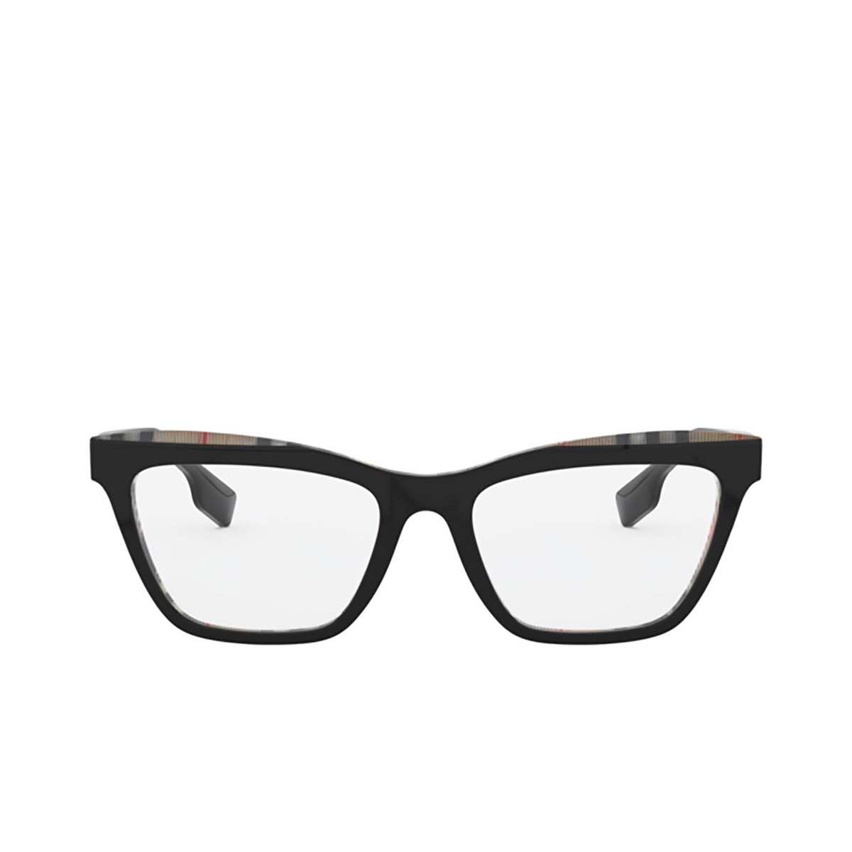 Burberry® Square Eyeglasses: Ryde BE2309 color Top Black On Vintage Check 3828.