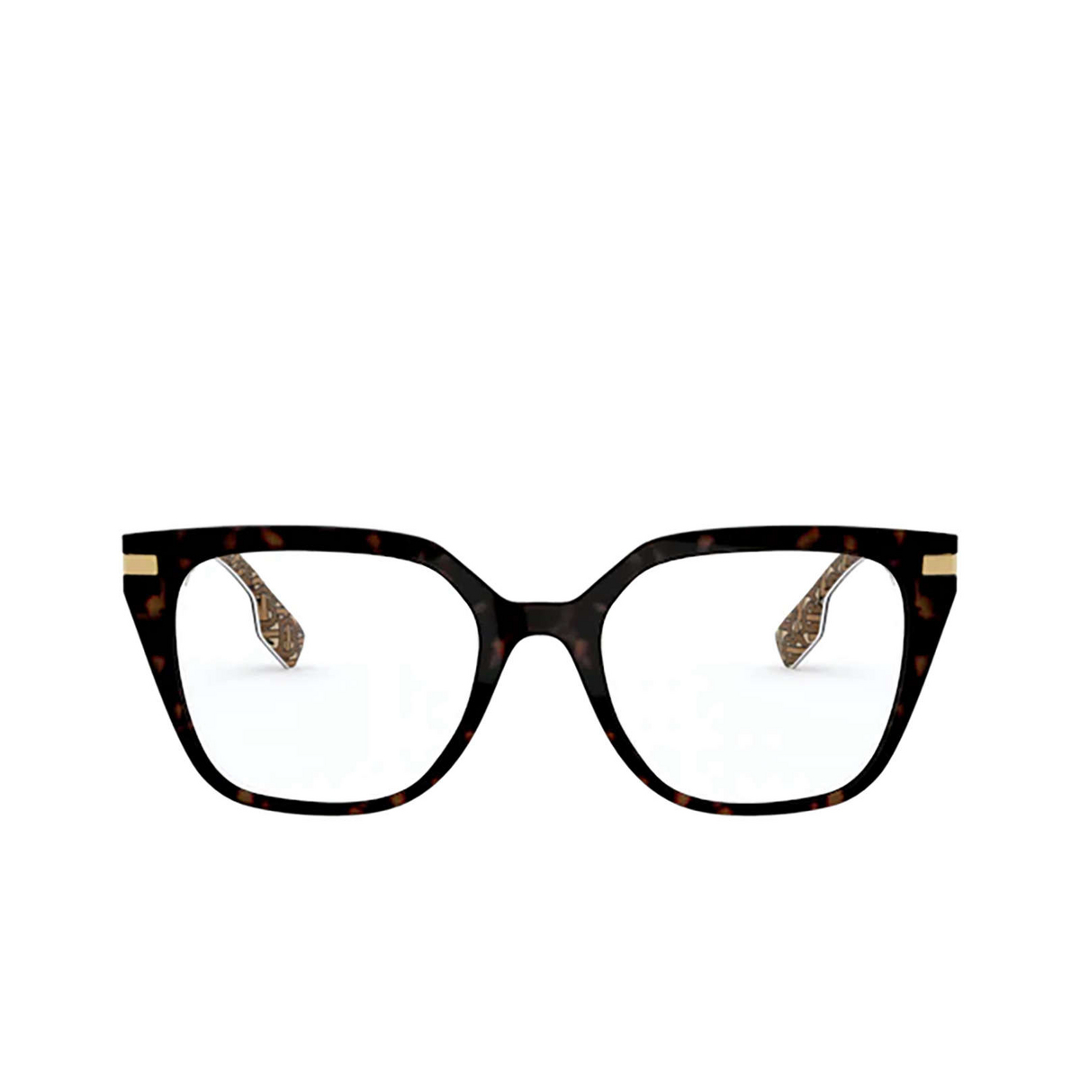 Burberry® Butterfly Eyeglasses: Seaton BE2310 color Top S9 On Tb Brown 3827 - front view.