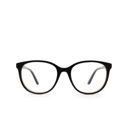 Cartier® Eyeglasses: CT0007O color Black & Red 001.