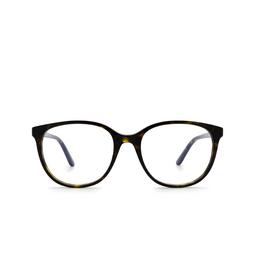 Cartier® Eyeglasses: CT0007O color Havana 002.