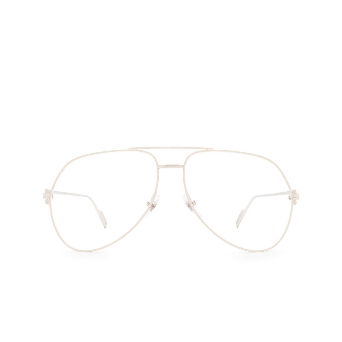 Cartier® Aviator Eyeglasses: CT0116O color Silver 002.