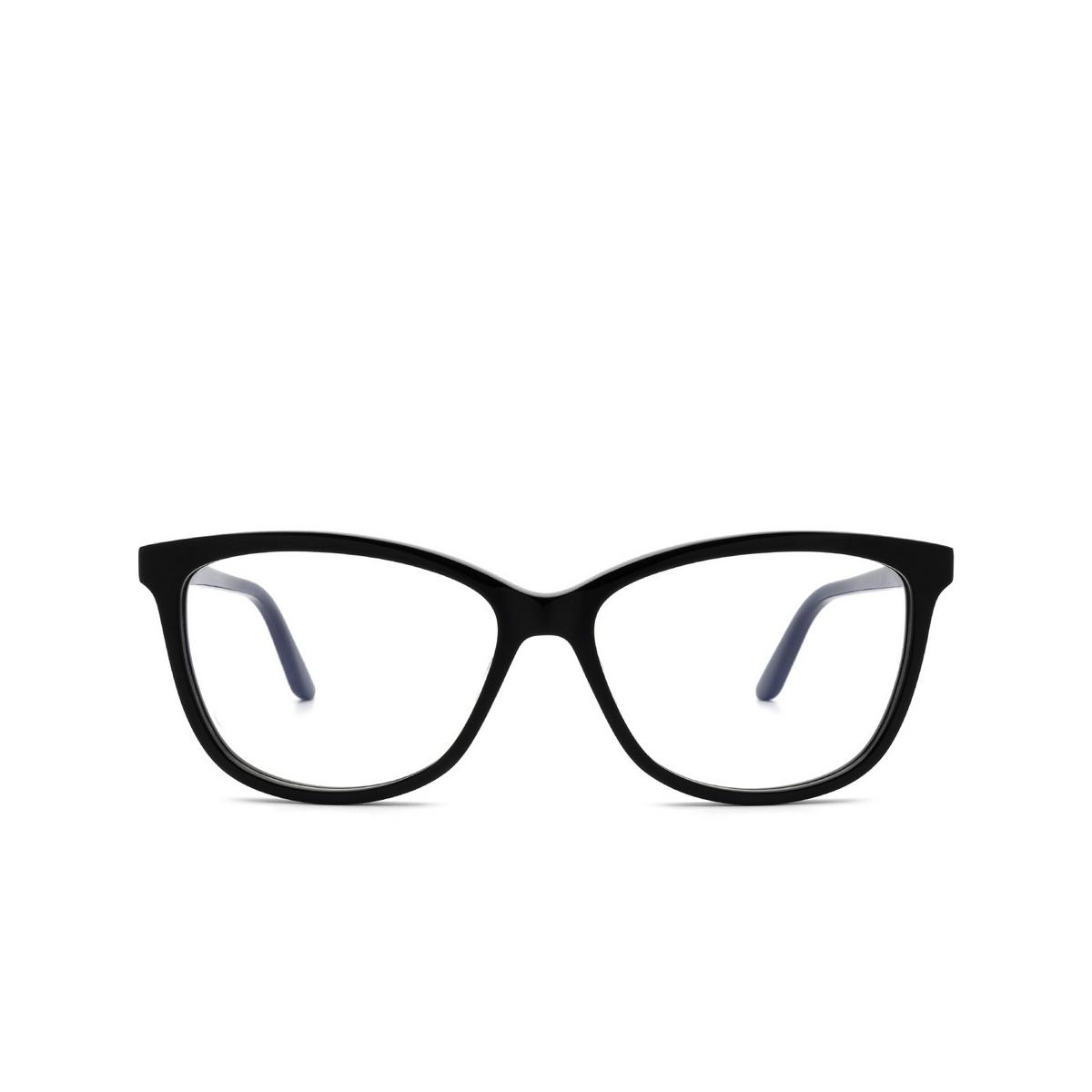 Cartier® Square Eyeglasses: CT0129O color Black 005.