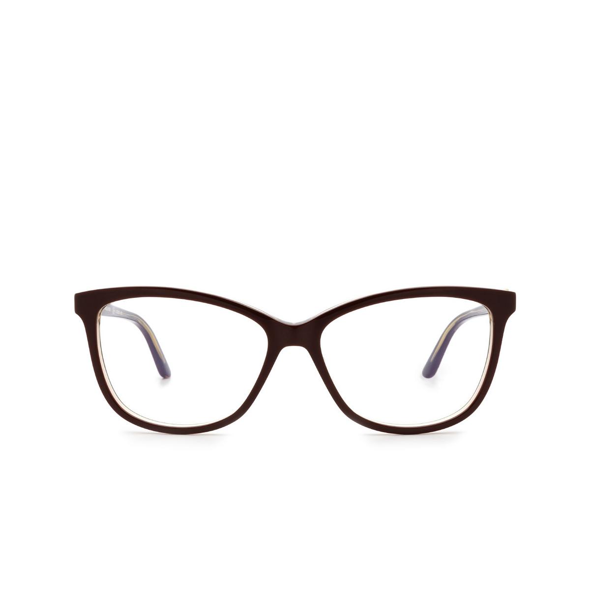 Cartier® Square Eyeglasses: CT0129O color Burgundy 007.
