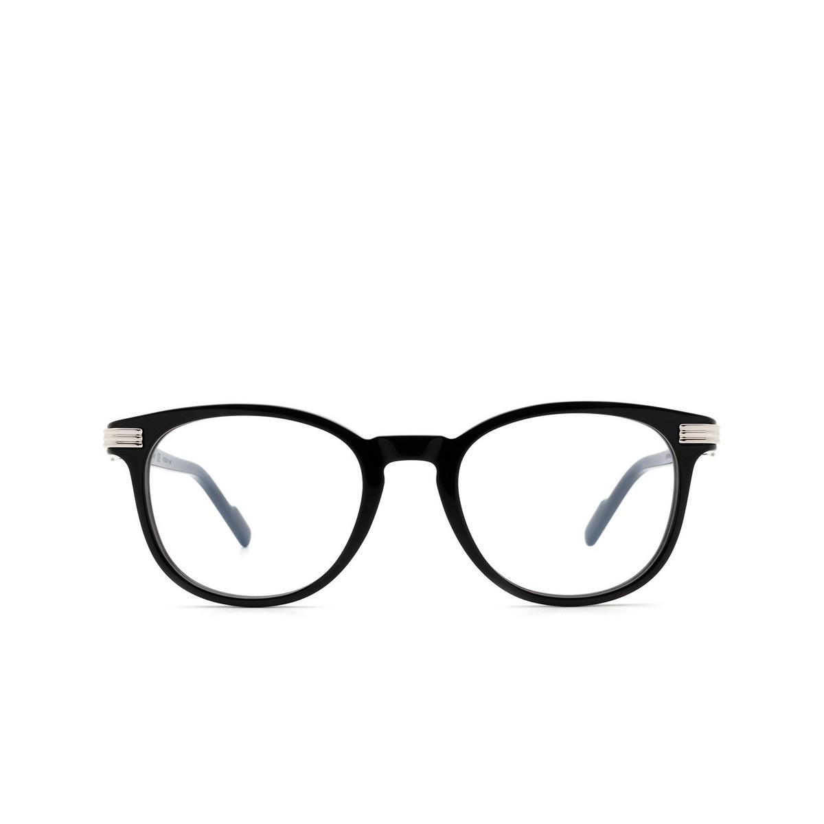 Cartier® Square Eyeglasses: CT0221O color Black 004.