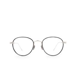 Cartier® Eyeglasses: CT0250O color Silver & Black 003.