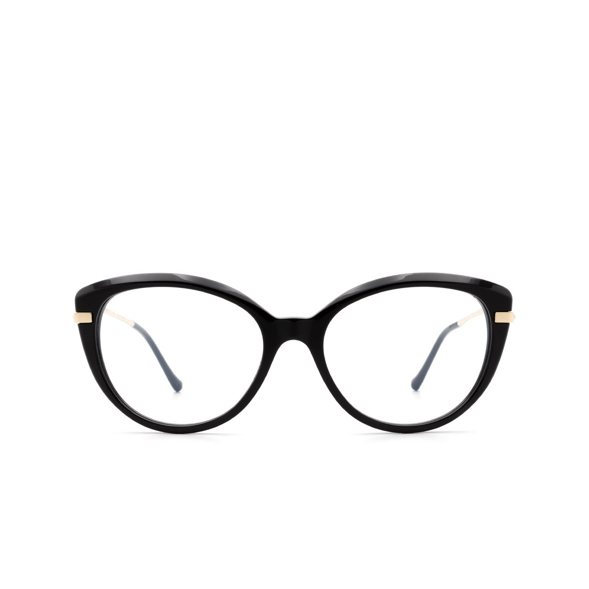 Cartier® Cat-eye Eyeglasses: CT0283O color Black 001.
