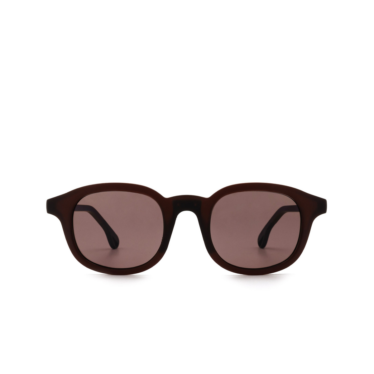 Chimi® Square Sunglasses: 01 ACTIVE color Red - front view.